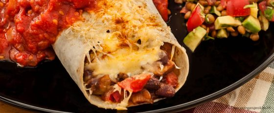 Burrito's met salsa roja