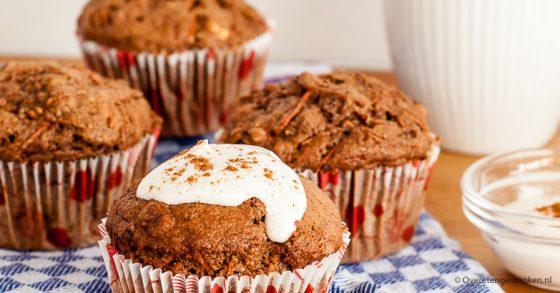 Wortel-noten muffins