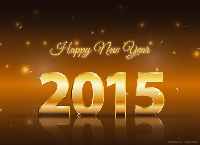 Happy 2015 - Een heel mooi, gelukkig, gezond en liefdevol 2015 gewenst!