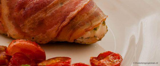 Kipfilet met pesto en tomaatjes