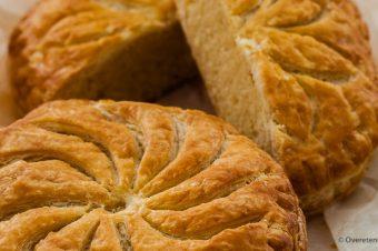 Driekoningentaart of galette de roi