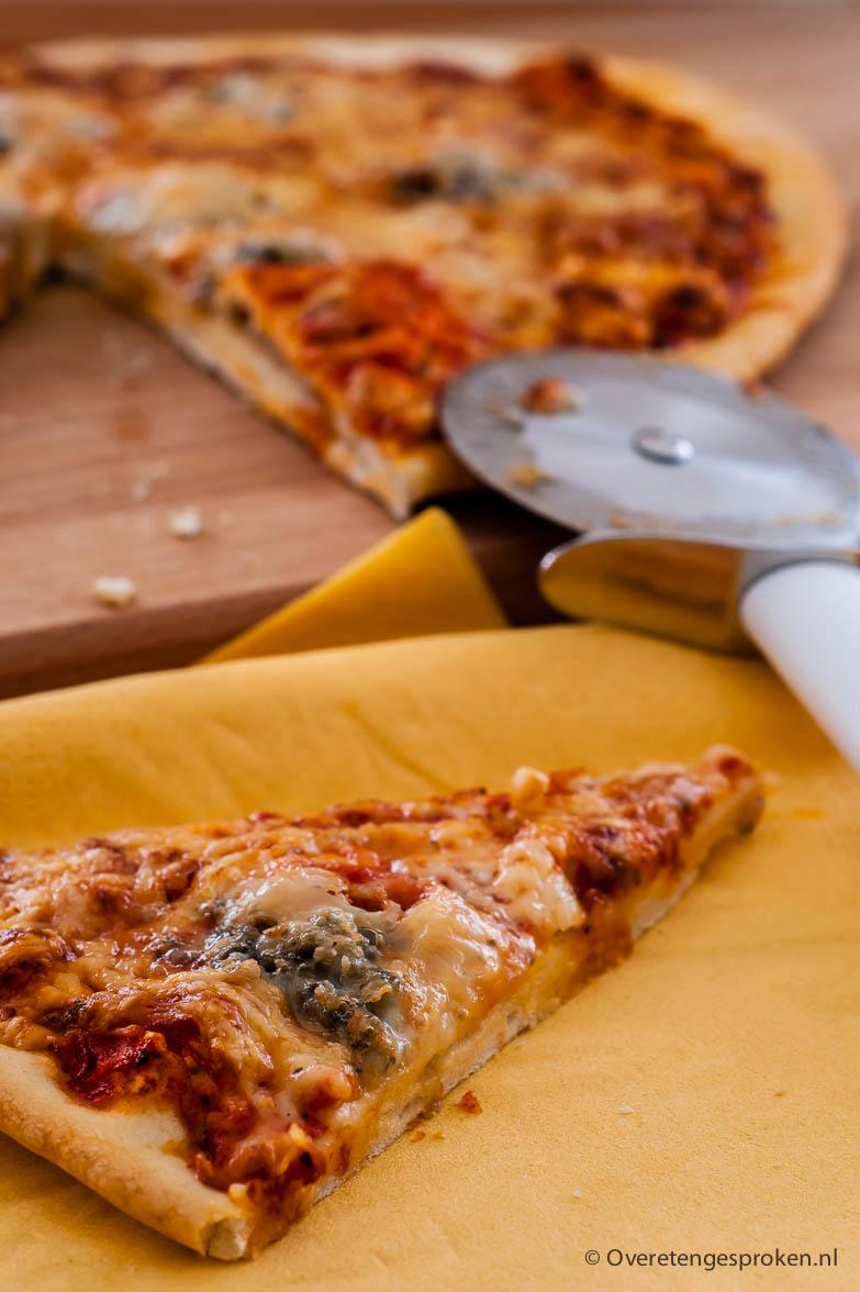 Pizza - Je hoeft geen Italiaan te zijn om zelf een lekkere pizza te maken!