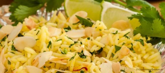 Indiase gele rijst
