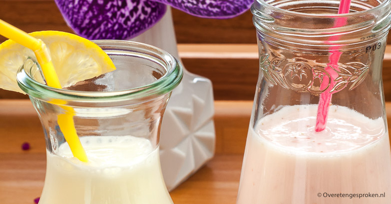 Verfrissende yoghurtdrank