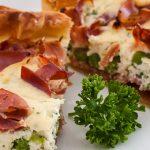 Quiche met groene asperges, ricotta en serrano ham - Super lekkere quiche die je absoluut een keer gegeten moet hebben!
