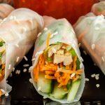 Springrolls - Gezonde en lichte variant van de gefrituurde loempia. Naar keuze te vullen met diverse groenten, rauwkost, vlees, vis, ei en/of noodles.