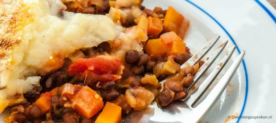 Vegetarische cottage pie