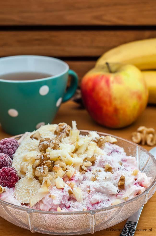 Nieuw Yoghurt met havermout en fruit - Overetengesproken.nl FY-44