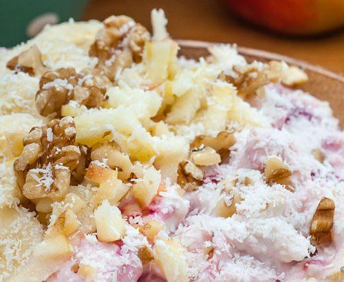 Wonderlijk Yoghurt met havermout en fruit - Overetengesproken.nl FD-62