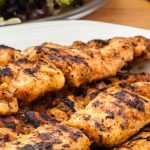 Kip cajunspiezen - Lekker voor op de barbecue of grillplaat. Inclusief mijn recept voor huisgemaakte cajun kruidenmix want dat is natuurlijk het lekkerst!
