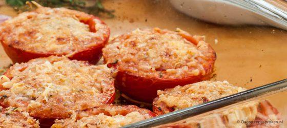 Gegratineerde tomaat
