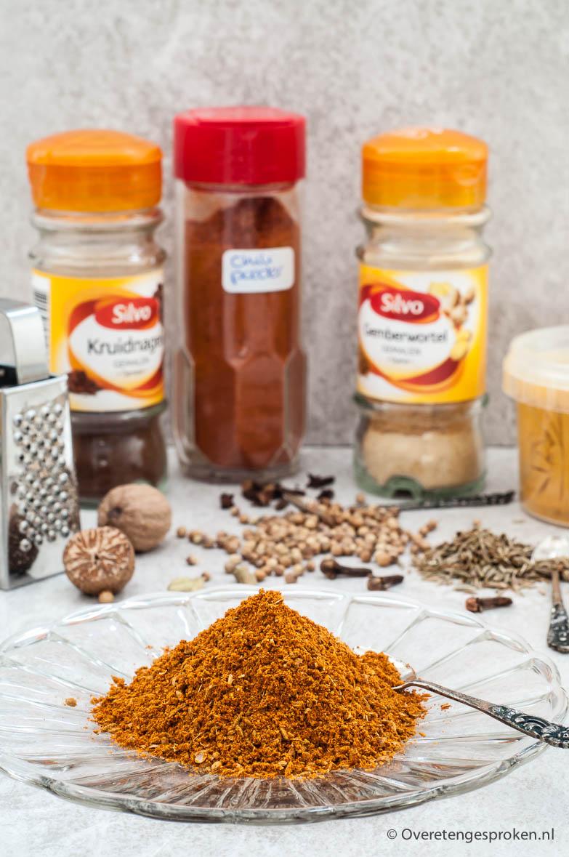 Ras el hanout - Een rijk Marokkaans/Arabisch kruidenmengsel dat je met dit recept heel makkelijk zelf maakt. Binnen een paar minuten heb je een potje vol.