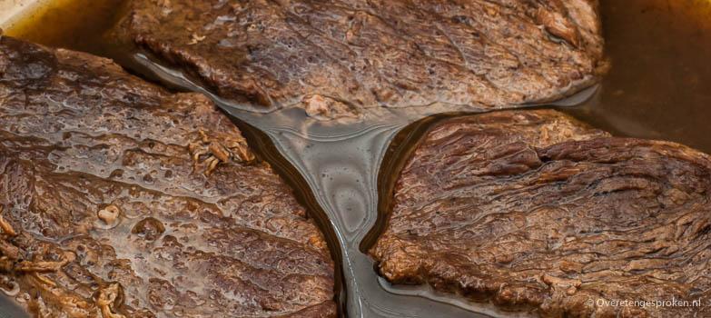 Ouderwets stoofvlees of draadjesvlees