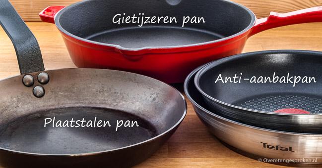 Koekenpannen en alles wat je daarover wilt weten - Handig artikel met allerhande informatie, tips en trucs over koekenpannen.