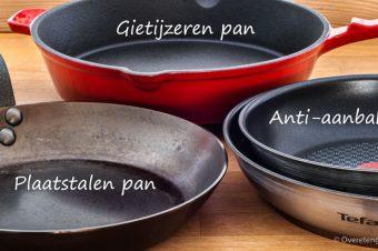 Koekenpannen en alles wat je daarover wilt weten