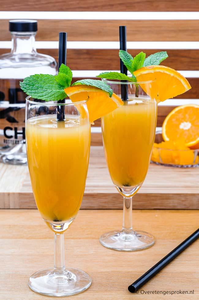 Zomerse cocktail met wodka - Voeg wat wodka toe aan een fles appel, ananas en perzik sap en je hebt een heerlijk zomerse cocktail.