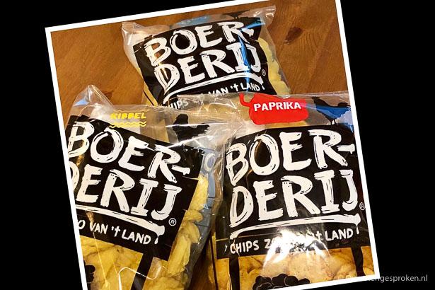 Boerderij chips zakken