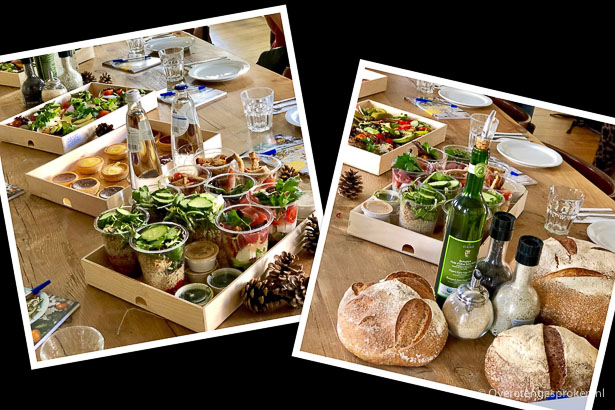 Organic Tour België met Love my Salad - Lunch bij Le Pain Quotidien Hasselt.