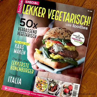 Foodies Magazine - Lekker vegetarisch