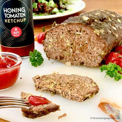 Looye Kwekers honing tomaten ketchup