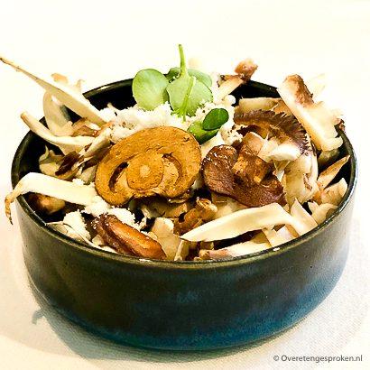 Zout & Citroen - crème van champignon