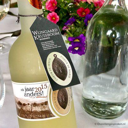 Asperge-event wijn van wijngaard Kruisboom