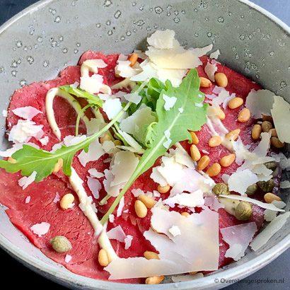 Restaurant De Roode Leeuw - carpaccio