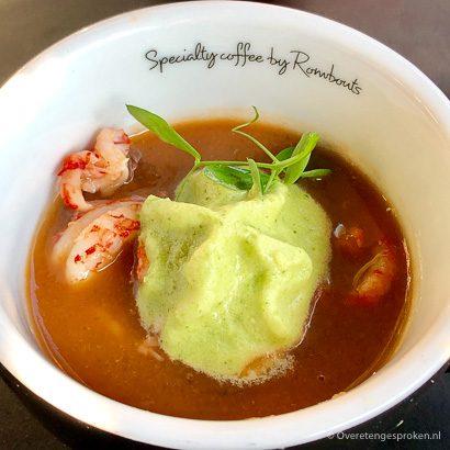 Restaurant De Roode Leeuw - gazpacho