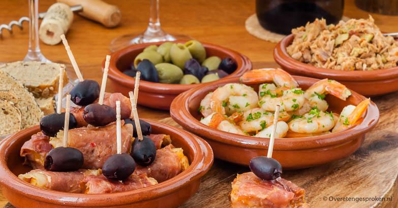 Spaanse borrelplank