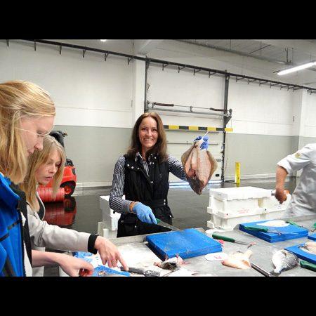 Bewuste Visweek - Fileren van een schol