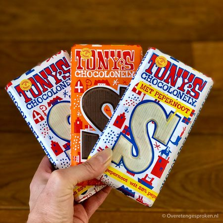 Tony's Chocolonely letterrepen