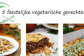 5 feestelijke vegetarische gerechten