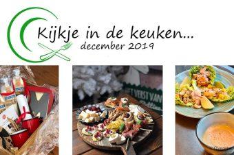 Kijkje in de keuken – december 2019