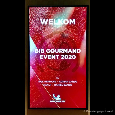 Bib Gourmand Event 2020