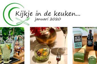 Kijkje in de keuken – januari 2020