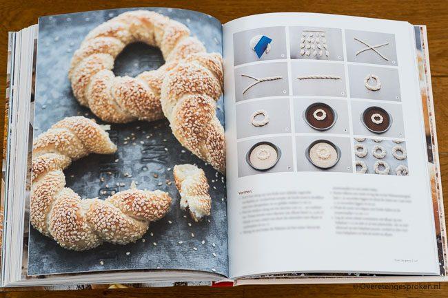 Brood 2, met zuurdesem of gist uit eigen oven - Levine van Doorne
