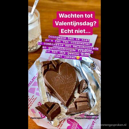 Tony's Chocolonely Valentijnsreep