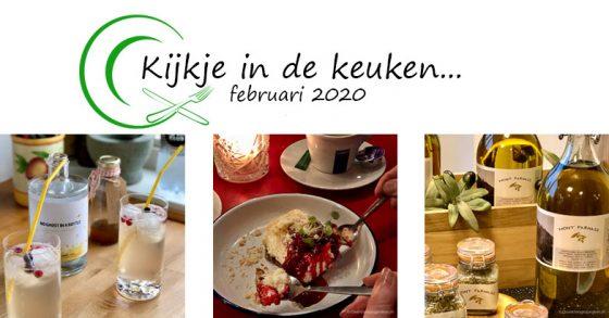 Kijkje in de keuken – februari 2020