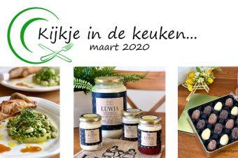 Kijkje in de keuken – maart 2020