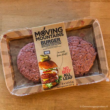 Moving Mountains vegetarische burger