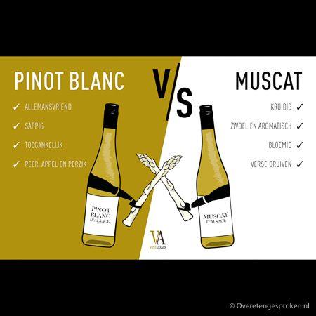 Pinot Blanc vs Muscat