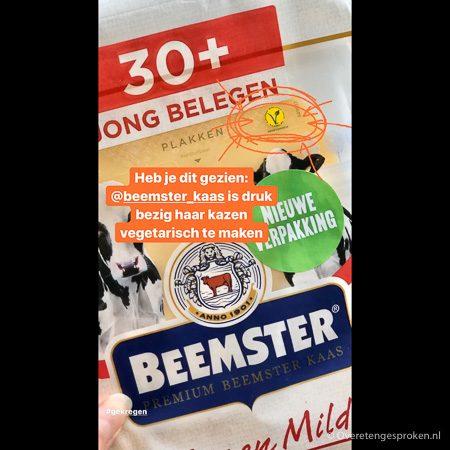 Beemster kaas 30+