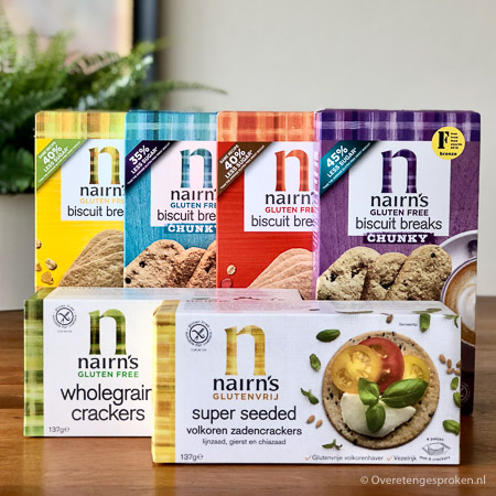 Nairn's haverkoekjes en cracker