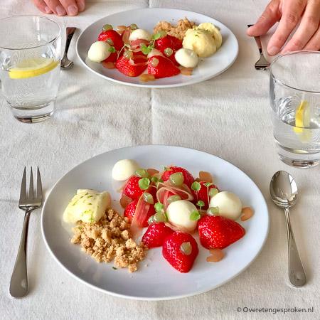 De Librije - Brass Boer Thuis menu