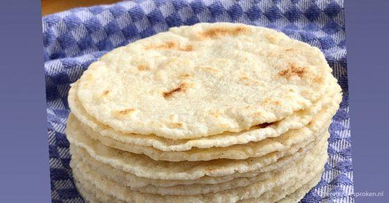 Homemade tortilla's