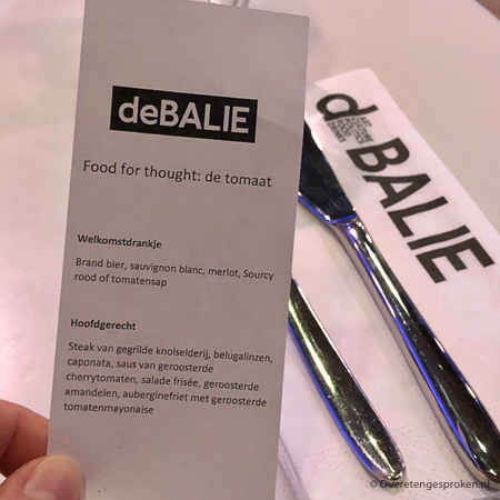 Food for Thought - De Balie