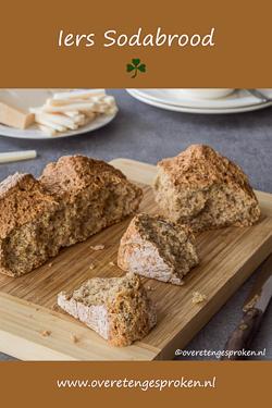 Iers sodabrood - Het simpelste brood dat er is maar zó waanzinnig lekker. Ingrediënten mengen en hup de oven in. Dit brood wil je maken!!
