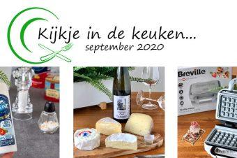 Kijkje in de keuken – september 2020