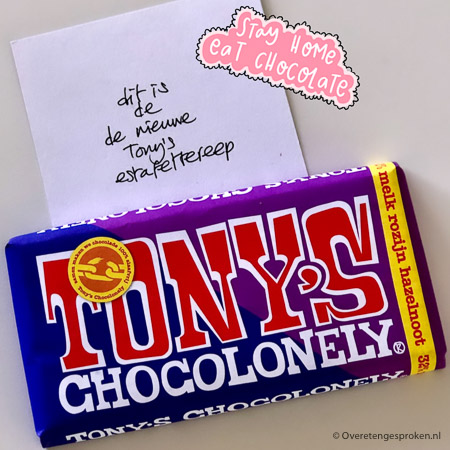 Tony Chocolonely estafettereep