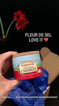 Fleur de Sel van Le saunier de Camargue